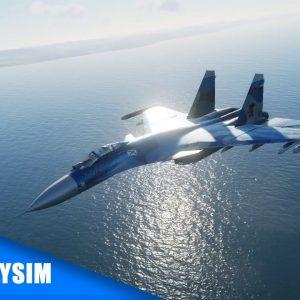 Carrier Landing - Fighter JET | DCS World