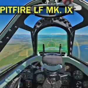 DCS world Inside The Spitfire LF Mk. IX