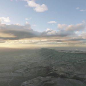 Development Video: Time lapse Clouds In Desert