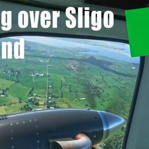 Flying over Sligo Ireland