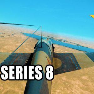 Flying the La-5 Series 8 in il2 sturmovik