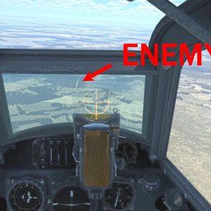 Dangerous mission in German plane goes wrong in WWII | Messerschmitt BF 109