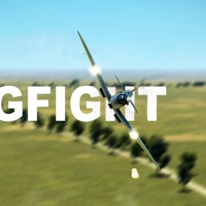 Good Skills During Dogfight - Spitfire