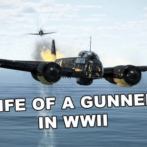 Life of a gunner in WWII during combat