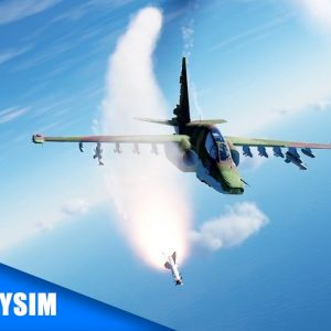 Mission SU-25T Dogfight DCS | Gameplay VR