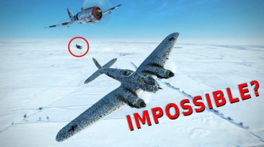 Not Impossible   Landing on top and bombing other airplanes