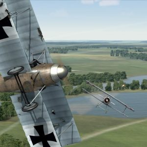 Rise of flight   A free, nice looking WWI combat flight simulator