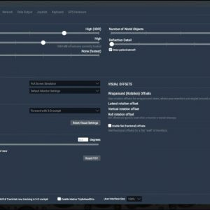 Setting the Rendering Options in X Plane 11