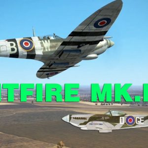 Spitfire MK.IX taking down a BF 109 | IL 2 Sturmovik