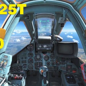 Su-25T Mission to destroy a couple of A-10 | DCS