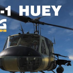 UH-1H Huey in action   DCS world