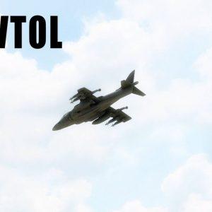 VTOL RC Harrier Jump Jet