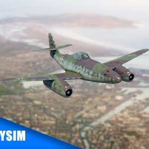 How did it feel like flying the first jet fighter during the WWII? | ME 262