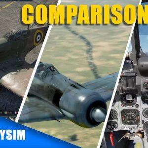 War thunder vs IL 2 Sturmovik vs DCS World | Combat Flight Simulators
