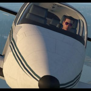Beechcraft Baron circuit and landing, taxi in & park Sunshine Coast Qld. Xplane 11flight simulator.