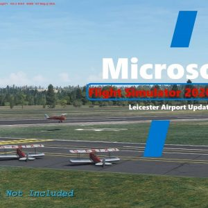 Microsoft Flight Simulator 2020 Leicester Airport Updated - A Tiger Moth Invasion!