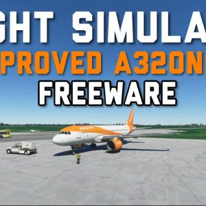 The Next Zibo?! | IMPROVED Airbus A320 Neo For Microsoft Flight Simulator | MSFS Freeware
