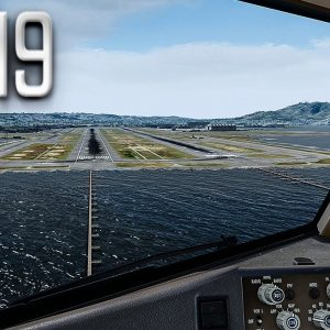 New Flight Simulator 2019 in 4K | Spectacular Approach and Landing in San Francisco | Ultra Realism