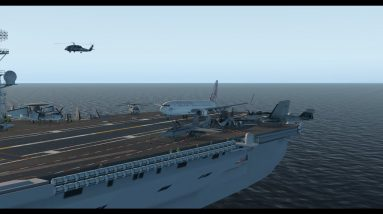 USS Nimitz carrier landings, Spitfire, C130, B52, B737, A321, C172, 208, B58, King Air, Cirrus, Cub