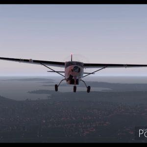 X-plane 11 FedEx C208 Caravan SYD departure RWY16R left circuit and land RWY16L