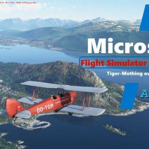 Microsoft Flight Simulator 2020 The Seven Islands of Alesund City - Beautiful New Scenery in Norway
