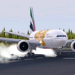 Unbelievable Boeing 777 HARD CROSSWIND Landing | Dangerous Landings | New Flight Simulator 2018