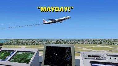 AIR CHINA EMERGENCY in Flight Simulator X Multiplayer (ATC)