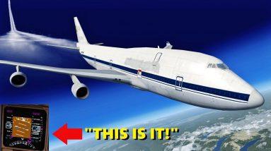 Boeing 747 SPEED RECORD in Flight Simulator X! (Multiplayer)