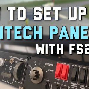 How To USE LOGITECH/SAITEK Panels With Microsoft Flight Simulator | MSFS Tutorial