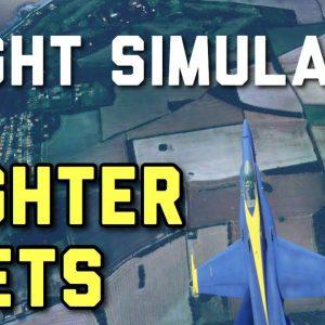 FIGHTER JETS In Microsoft Flight Simulator | MSFS Freeware