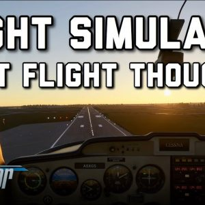 Flight Simulator 2020 First Flight - FS2020 My Thoughts And Reaction