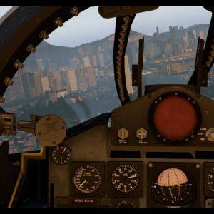 HKG KAI TAK landings via Checkerboard, Spitfire, B-52, F4 Phantom, C-130, Fairey Gannet, Xplane 11