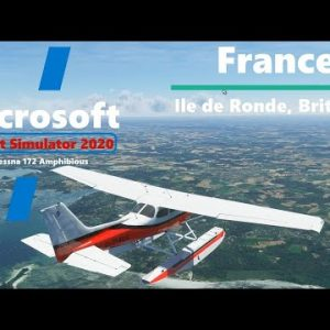 Microsoft Flight Simulator 2020 Cessna 172 Amphibious - Floats and Wheels
