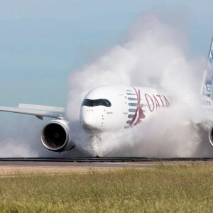 XPLANE11 - A350 XWB - EMERGENCY LANDING at KJFK - LANDING GEAR ACTUATOR FAILED
