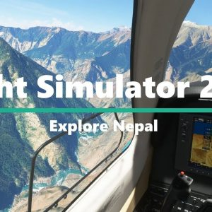 Microsoft Flight Simulator 2020 Scenic Approach and Landing - Nepal Himalayas - Beautiful Dolpa