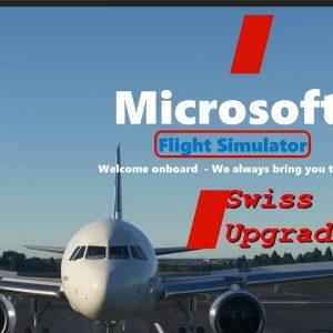 Microsoft Flight Simulator 2020 - New Swiss Terrain Upgrade - Split Screen Comparison