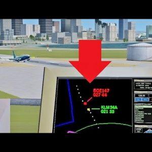 LOSING PLANES as ATC in Flight Simulator X (Multiplayer)