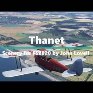 Microsoft Flight Simulator New Scenery - Thanet UK - Includes Ramsgate
