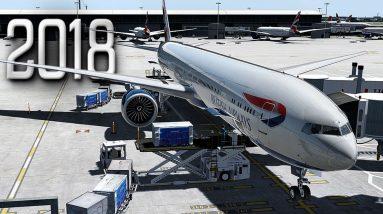 New Flight Simulator 2018 in 4K - P3D 4.3   Spectacular Realism