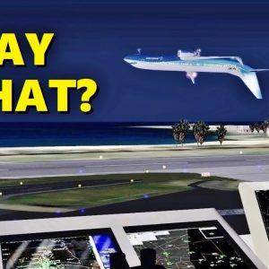 Pilots Can't Speak ENGLISH in Flight Simulator X (Multiplayer ATC)