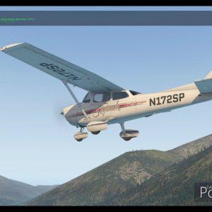 Queenstown NZ NZQN airport flyabout C172 X-plane 11