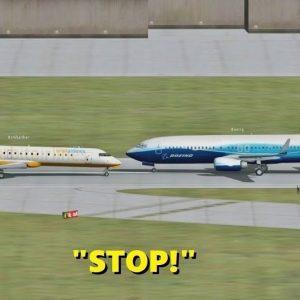 RIDICULOUS Pilot Behavior in Flight Simulator X (Multiplayer ATC)