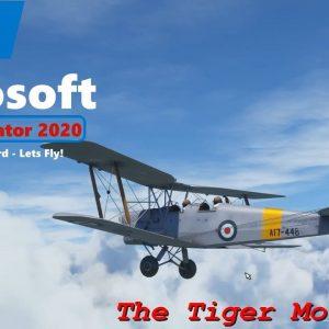 Microsoft Flight Simulator 2020 - Quick VFR - Rochester via Dartford QE Bridge River Thames