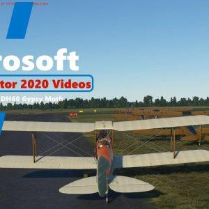 Microsoft Flight Simulator 2020 - De Havilland DH60 Gypsy Moth - Quick Test Flight