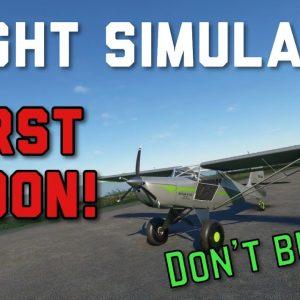 The WORST Addon For Microsoft Flight Simulator | Kitfox STi Review