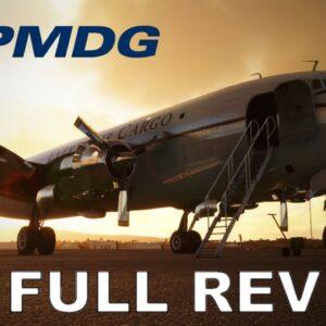 PMDG DC6 | Real Pilot | Detailed Review + Full Flight | Microsoft Flight Simulator