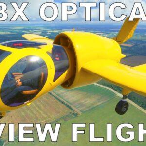 Orbx Edgley EA-7 Optica | Full Review Flight | Microsoft Flight Simulator 2020