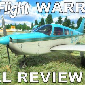 Just Flight PA-28 Warrior II | Full Review | Burning Blue Design | Microsoft Flight Simulator