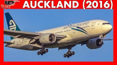 30mins of Plane Spotting at AUCKLAND AIRPORT (2016)