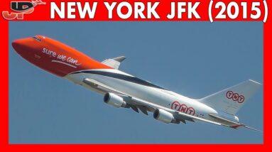 30mins of Plane Spotting at NEW YORK JFK AIRPORT (2015)
